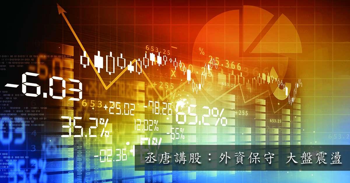 丞唐講股:外資保守 大盤震盪