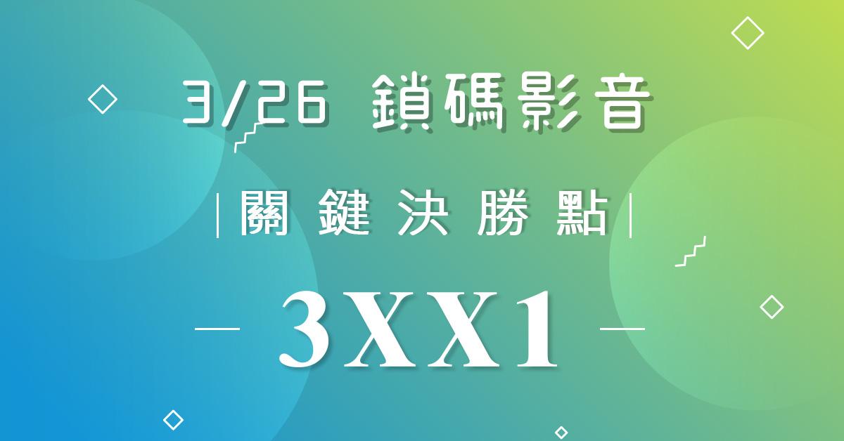 【黃烱烈2019/03/26】鎖碼影音(試看)