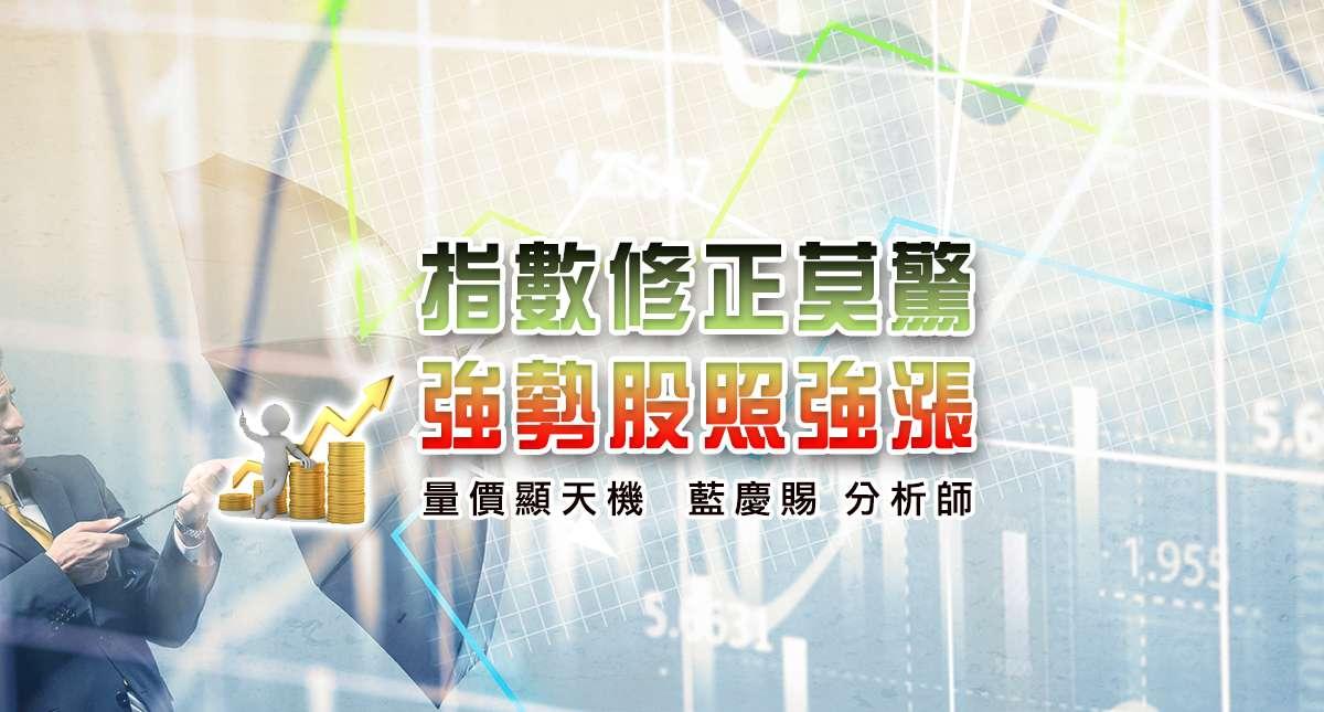 20170309指數修正莫驚強勢股照強漲