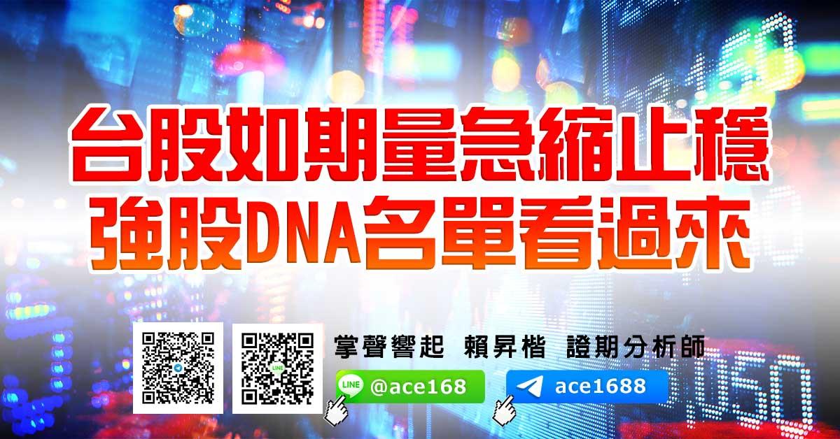台股如期量急縮止穩 強股DNA名單看過來 (圖)